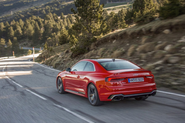 Audi RS5 Coupe Heck Seiten
