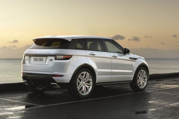 Range Rover Evoque Land Rover Heck Seite