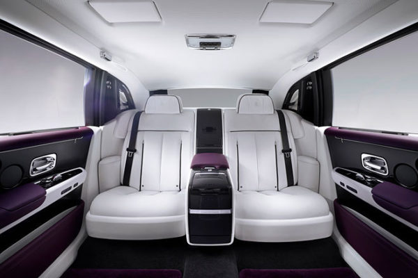 Rolls-Royce Phantom VIII Innenansicht