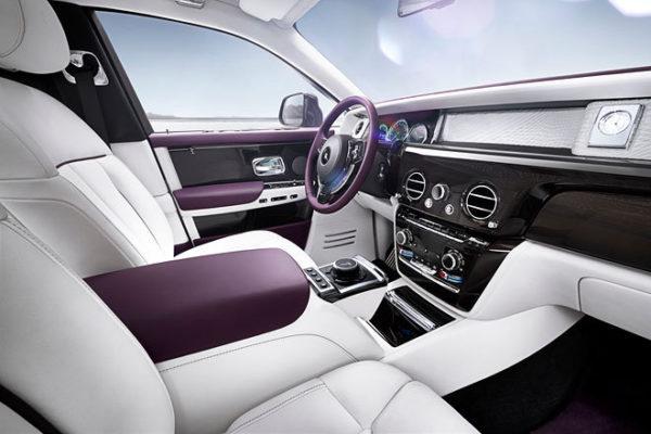 Rolls-Royce Phantom VIII Innenraum