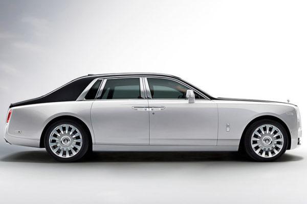 Rolls-Royce Phantom VIII Seitenansicht