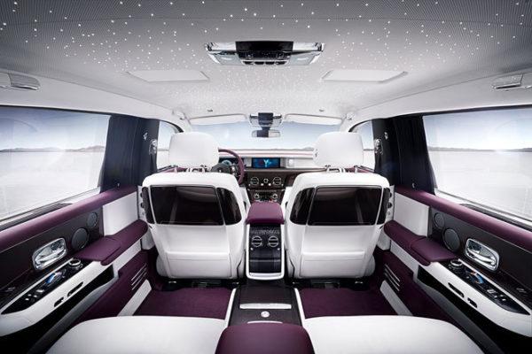 Rolls-Royce Phantom VIII Sitze