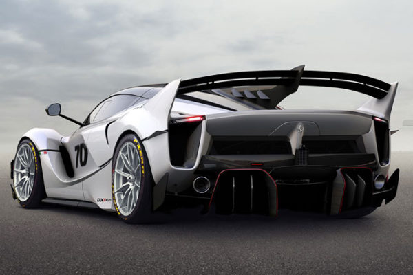 Ferrari FXX-K Evo Heck