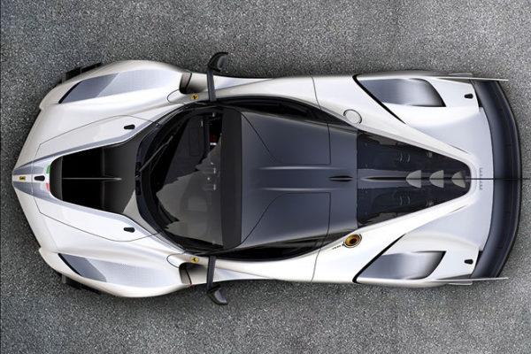 Ferrari FXX-K Evo oben