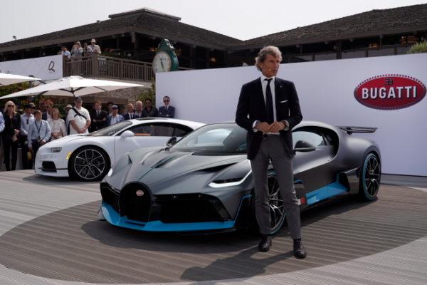 Weltpremiere für den Bugatti Divo