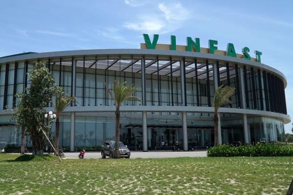 VinFast Fabrik Gebäude Vietnam