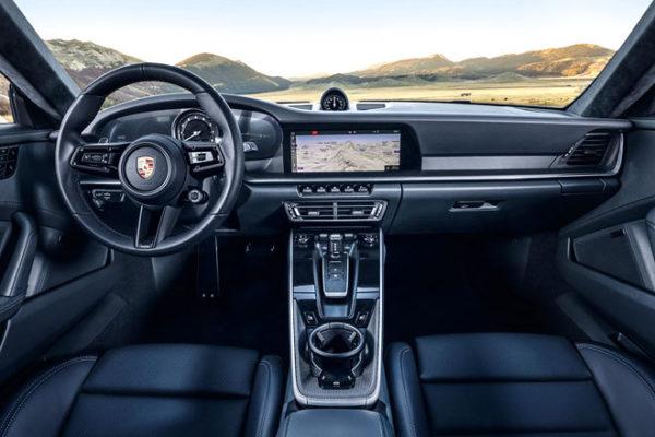 neuer Porsche 911 Innenraum