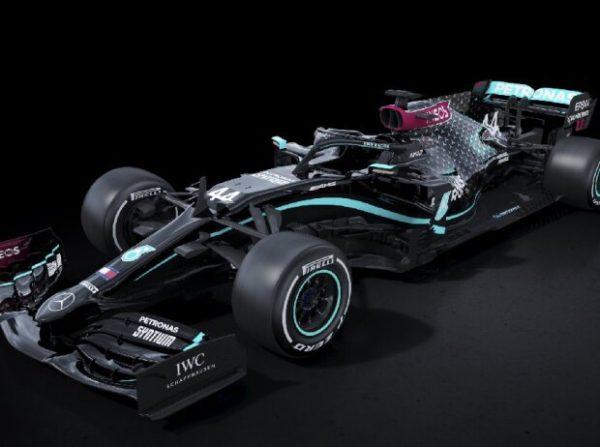 Mercedes in der F1 2020 mit neuer Lackierung