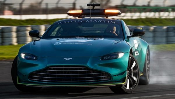 Aston Martin stellt ab sofort Safety & Medical Car in der Formel1
